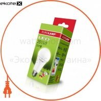 классическая светодиодная eurolamp led лампа еко а75 20w e27 4000k