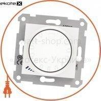Sedna Светорегулятор поворотно-нажимной, без рамки 1000VA белый