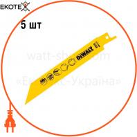 Полотно пильное биметаллическое DeWALT DT2384