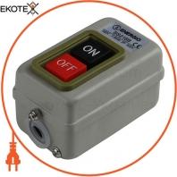 Пост кнопочный ENERGIO BS216B 30A 3P 500B 7,5кВт