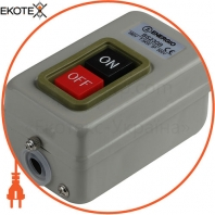 Пост кнопочный ENERGIO BS230B 30A 3P 500B 7,5кВт
