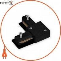 Конектор кутовий LD1101 чорний