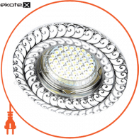 Встраиваемый светильник Feron DL6034 хром 30119