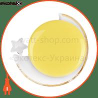 Светильник ночник Feron DEL4026 месяц желтый 30097