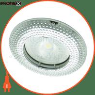 Встраиваемый светильник Feron DL6042 хром 30121