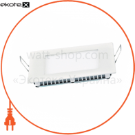 світильник світлодіодний стельовий DELUX CFR LED 10 4100К 24Вт 220В квадрат