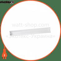 світильник люмінесцентний накладний з відбивачем DELUX FLP 2х36W RW G13