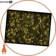 Гирлянда внешняя DELUX CURTAIN 1520LED 2x7m желтый/белый IP44 EN