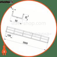 ATK-05-04 Enext лотки металлические и аксессуары лоток дротовий 50х35 4.0 мм, довжина 3 м