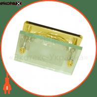 Встраиваемый светильник Feron 3781 R-50 золото  14097