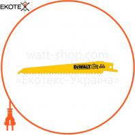 Полотно пильное биметаллическое DeWALT DT2359