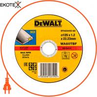 Круг отрезной DeWALT DT42340Z