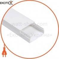 Кабельный канал Sokol 25х16 (120) Standard белый