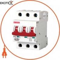 Модульный автоматический выключатель e.industrial.mcb.100.3.D.40, 3р, 40А, D, 10кА