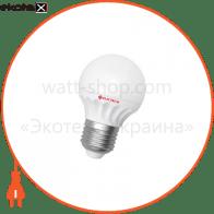 Лампа светодиодная шар LB-11 5W E14 4000K керам. корп. A-LB-0719