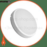 EUROLAMP LED Светильник круглый накладной ЖКХ 12W 5500K