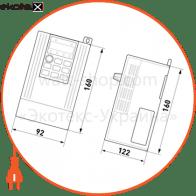 перетворювач частотний e.f-drive.4r0 4квт 3ф/380в