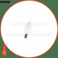 лампа світлодіодна DELUX BL37B 6 Вт tail 3000K 220В E14 теплий білий