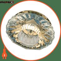 Встраиваемый светильник Feron JD88 прозрачный золото 18869