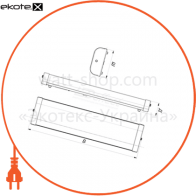 классика 16 вт ip 20 модификация с опаловым рассеивателем светодиодные светильники ledeffect Ledeffect LE-СПО-05-023-0122-20Д