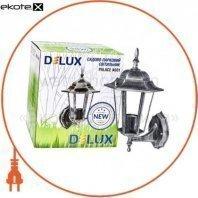 светильник садово-парковый PALACE A001 60Вт Е27 черный-серебро