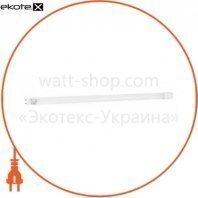 лампа світлодіодна DELUX FLE-002 18 Вт T8 6500K 220V G13 скло холодний білий