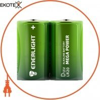 Батарейка ENERLIGHT MEGA POWER D FOL 2