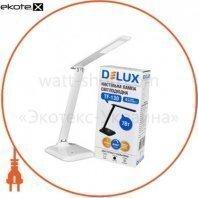 Светильник светодиодный настольный Delux TF-130 3000К/6000К 7Вт белый
