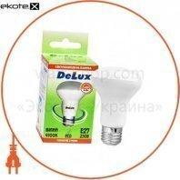 лампа светодиодная DELUX FC1 6 Вт R50 2700K 220В E27 теплый белый