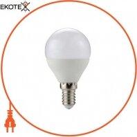 Лампа светодиодная e.LED.lamp.P45.E14.6.3000, 6Вт, 3000К