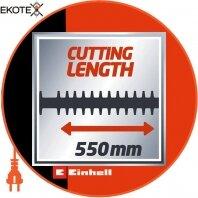 Einhell 3403320 кусторез электрический gc-eh 6055/1