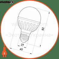 лампа світлодіодна e.save.led.g45m.e27.5.2700 тип куля, 5вт, 2700к, е27 светодиодные лампы enext Enext l0650312