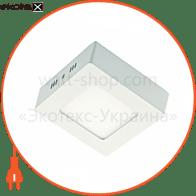 світильник світлодіодний стельовий DELUX CFQ LED 10 4100К 24Вт 220В квадрат