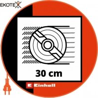 Einhell 3413157 газонокосарка акумуляторна ge-cm 18/30 li-solo