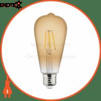 Лампа филамент LED Винтаж 4W Е27 2200К 360Lm 220-240V