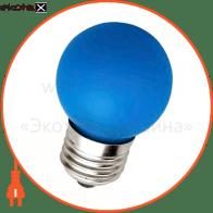 LB-37 G45 230V 1W E27 синяя