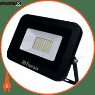 LL-855 50W 6400K 230V (215*185*30mm) Черный IP 65
