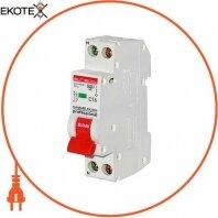 Модульный автоматический выключатель e.mcb.pro.60.1N.С16.thin, 1р+N, 16А, C, 4,5кА, тонкий