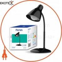 Настольный светодиодный светильник Feron DE1727 черный