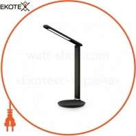 Настольный светодиодный светильник Feron DE1728 черний