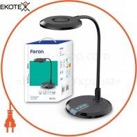 Настольный светодиодный светильник Feron DE1731 черный