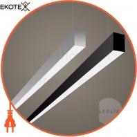 LED-светильник линейный, цвет корпуса - серебристый, 15 W, 1800 Lm, 6000K