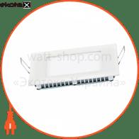 світильник світлодіодний стельовий DELUX CFR LED 10 4100К 6Вт 220В квадрат