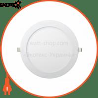 Встраемая Круглая LED Панель 464-RRP-18 Цвет 6400K 18W - O225mm / O205mm - 1440lmВбудована Кругла LED Панель 464-RRP-18 Колір 6400K 18W - O225mm / O205mm - 1440lm