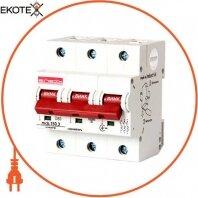 Модульний автоматичний вимикач e.industrial.mcb.150.3.D80, 3р, 80А, D, 15кА
