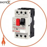 Автоматичний вимикач захисту двигуна e.mp.pro.6,3 4-6,3 А
