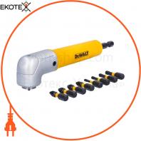 Насадка угловая 90° для дрелей и шуруповертов с торсионными битами EXTREME IMPACT DeWALT DT71517T
