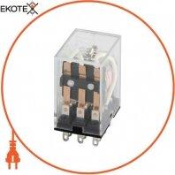 Реле промежуточное e.control.p531 5А, 3 группы контактов, катушка 12В DC