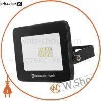 Прожектор світлодіодний ES-10-504 BASIC 550Лм 6400К