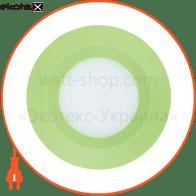 Свiтильник свiтлодiодний AL525, зелений 3W 5000K